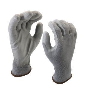 guanto in poliuretano grigio