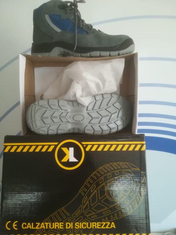 calzatura alta da lavoro