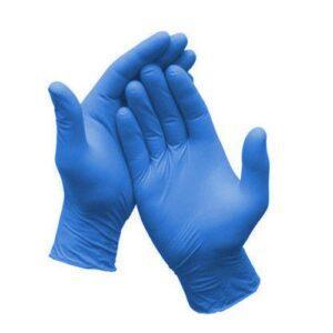 guanti blu