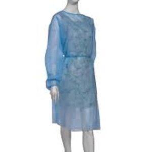 camice visitatore monouso blu